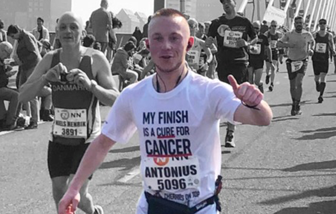 Toon's finish is a cure for cancer