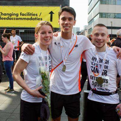 Rotterdam marathon - Fundraising for Cherries on Top